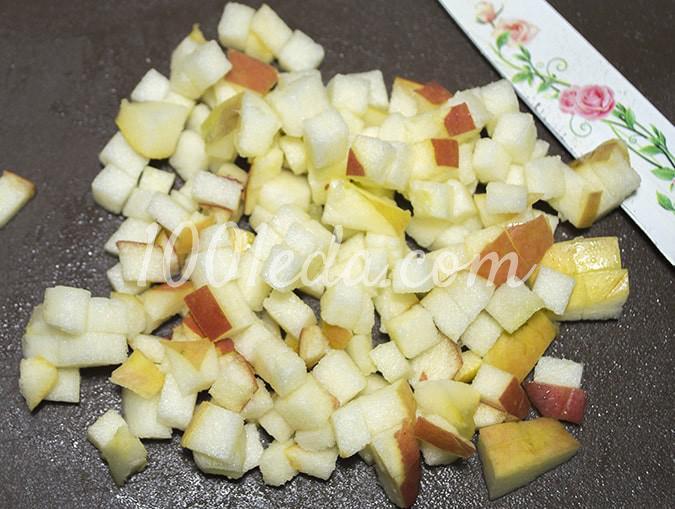 Винегрет диетический с яблоками: пошаговый с фото - Шаг №4
