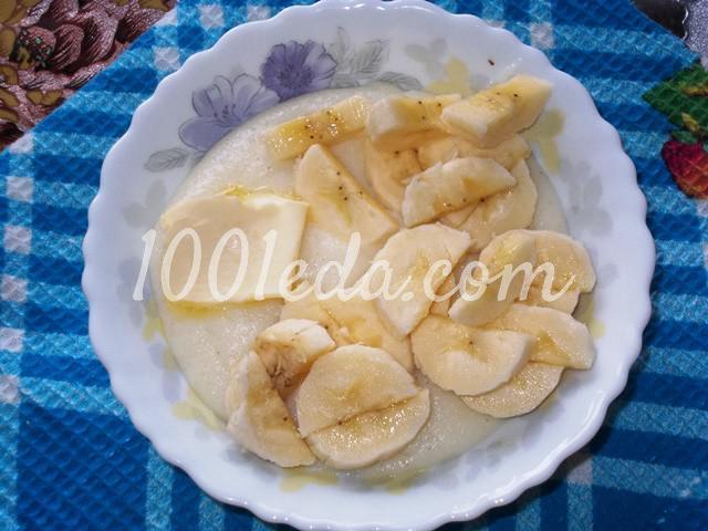 Вкусная и полезная манная каша с бананом на завтрак: пошаговое фото - Шаг №4