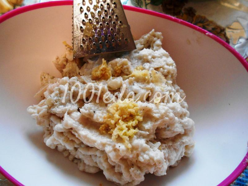 Вкуснейший паштет из соленого сала с чесноком: пошаговое фото - Шаг №4