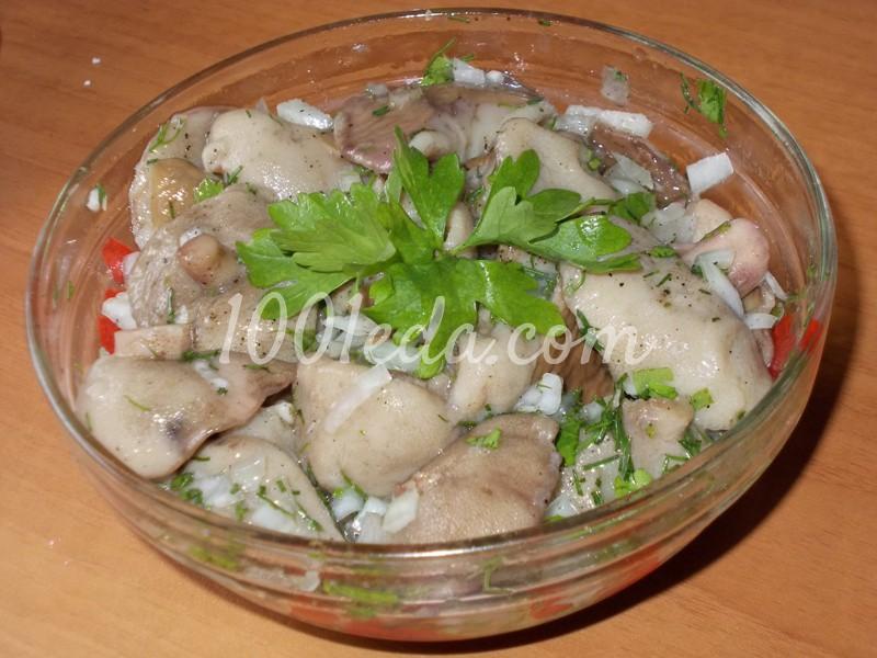 Салат из грибов маслят рецепты с