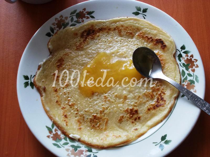 Вкусные блины на завтрак с подложкой - 2 варианта - Шаг №5