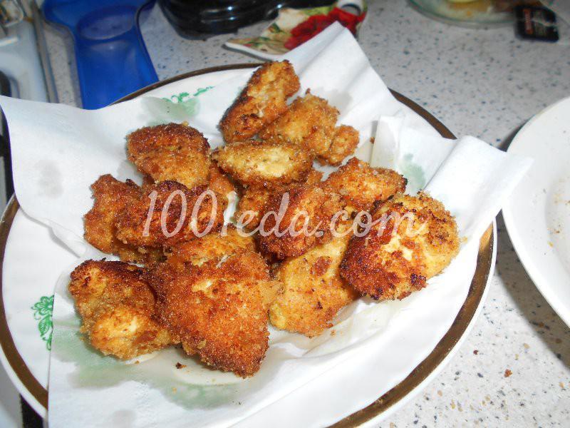 Вкусные домашние наггетсы: пошаговое фото - Шаг №7