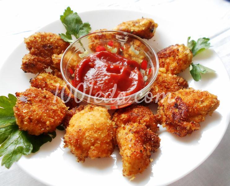 Вкусные домашние наггетсы: пошаговое фото - Шаг №8