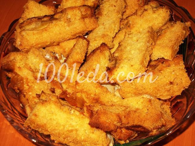 Вкусные домашние сухарики Непропадайки из бисквитного пирога: пошаговый с фото - Шаг №6