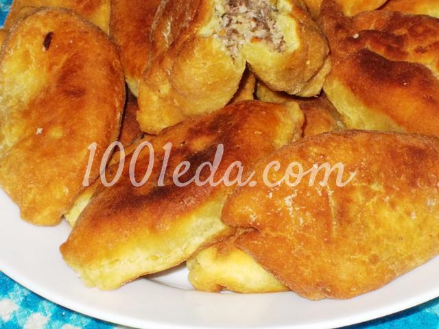 Вкусные пирожки с грибной начинкой