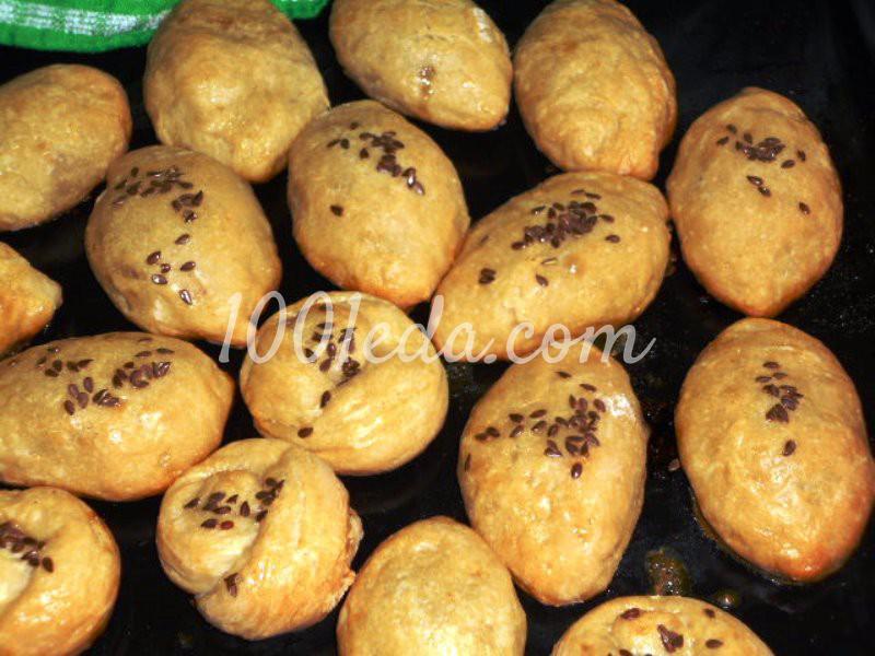 Вкусные сладкие пирожки в духовке: пошаговый с фото - Шаг №6