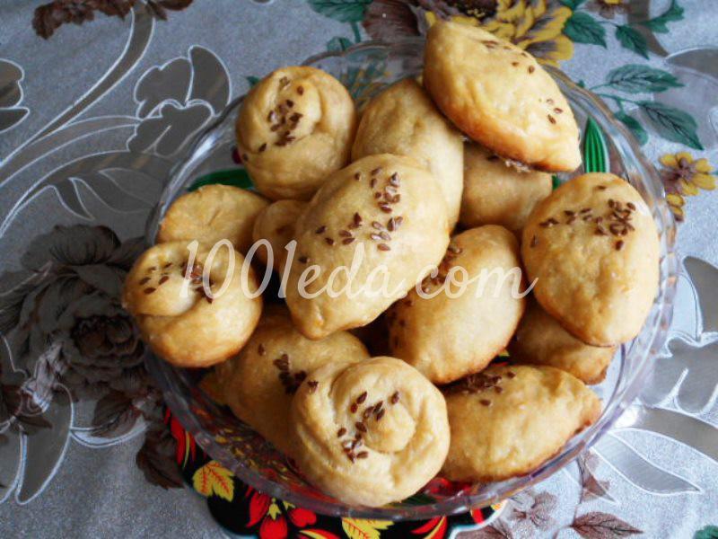 Вкусные сладкие пирожки в духовке: пошаговый с фото - Шаг №7