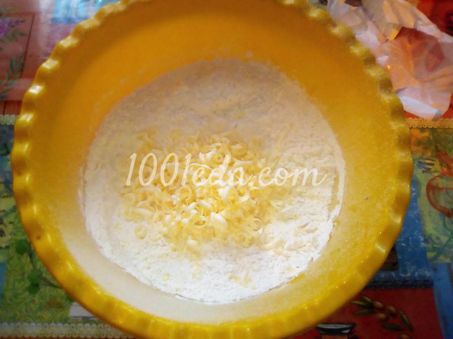 Вкусный пирог с черникой и сметанной заливкой: пошаговый с фото - Шаг №4