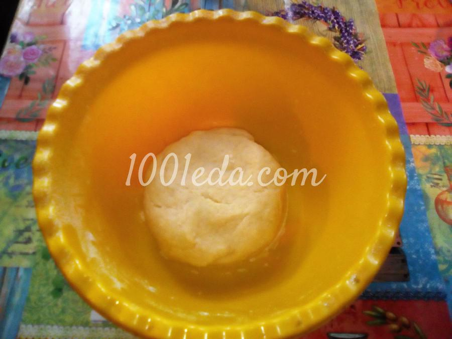 Вкусный пирог с черникой и сметанной заливкой: пошаговый с фото - Шаг №7