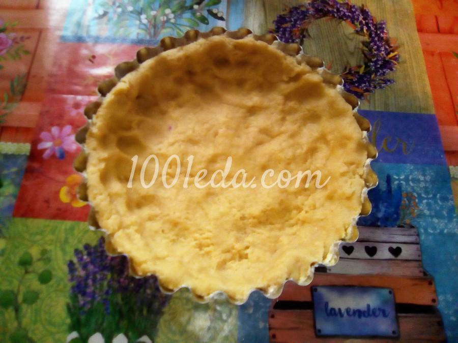 Вкусный пирог с черникой и сметанной заливкой: пошаговый с фото - Шаг №8