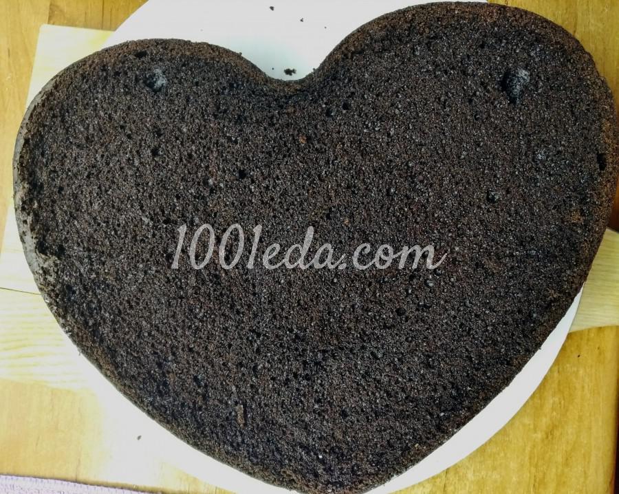 """Вкусный домашний торт """"Любовь в шоколаде"""": пошаговый с фото - Шаг №1"""