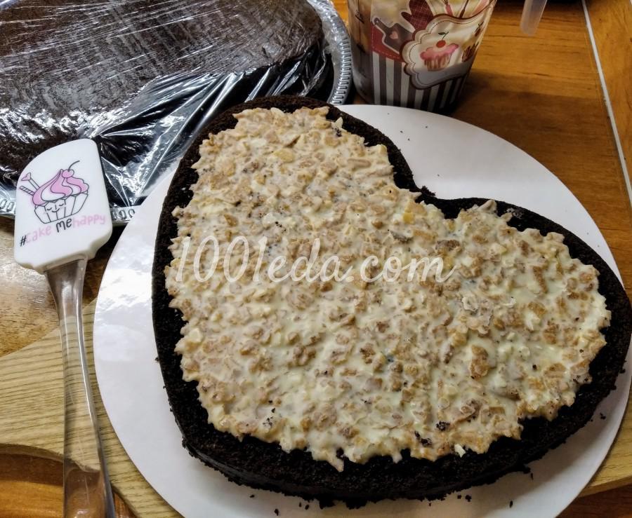 """Вкусный домашний торт """"Любовь в шоколаде"""": пошаговый с фото - Шаг №3"""