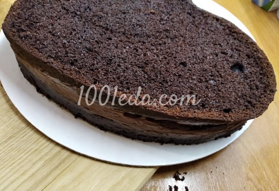 """Вкусный домашний торт """"Любовь в шоколаде"""": пошаговый с фото - Шаг №6"""
