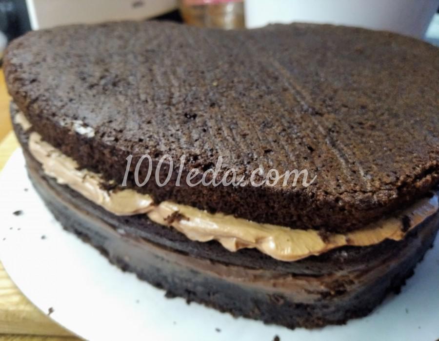 """Вкусный домашний торт """"Любовь в шоколаде"""": пошаговый с фото - Шаг №7"""