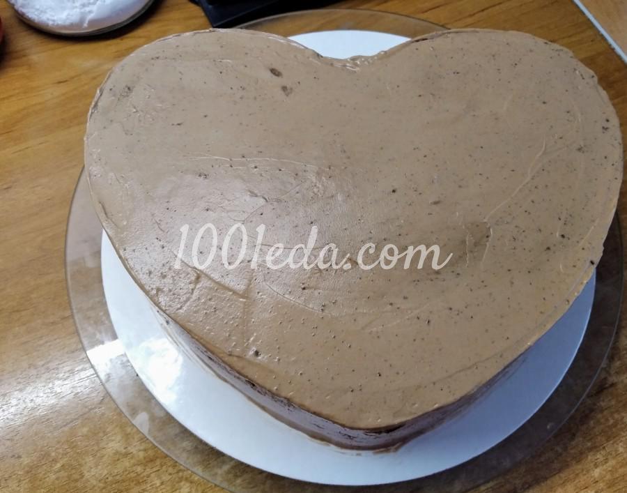 """Вкусный домашний торт """"Любовь в шоколаде"""": пошаговый с фото - Шаг №9"""