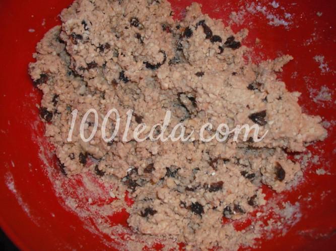 Халва арахисовая с изюмом: пошаговое фото - Шаг №12