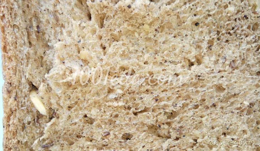 Хлеб с семенами в хлебопечке: пошаговый с фото - Шаг №18