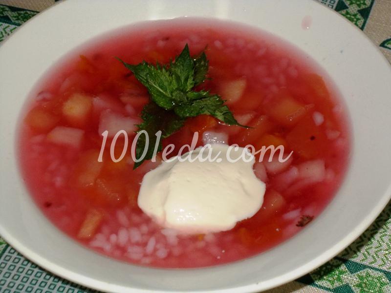Суп с рисом пошаговое 2