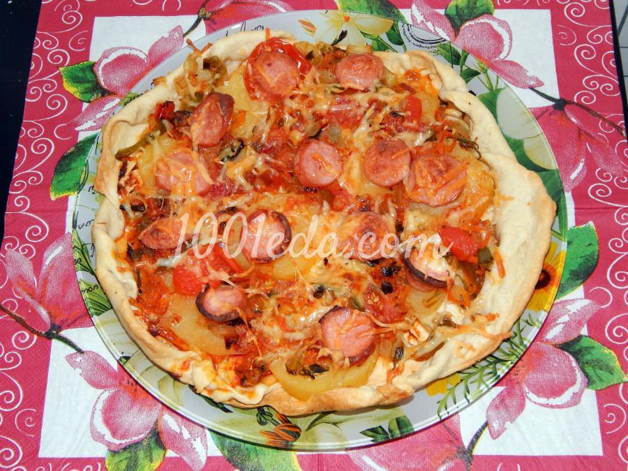 Тесто для пиццы! Самое вкусное тесто для пиццы - рецепт