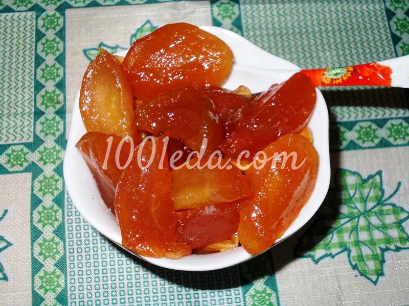 Яблочное варенье с дольками с фото пошагово