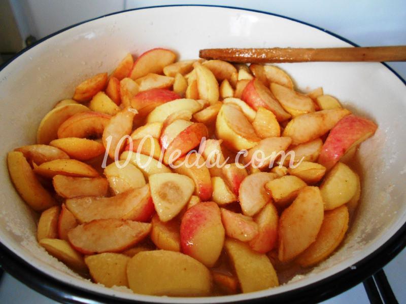 """Яблочное варенье и желе """"Два в одном"""": пошаговое фото - Шаг №3"""