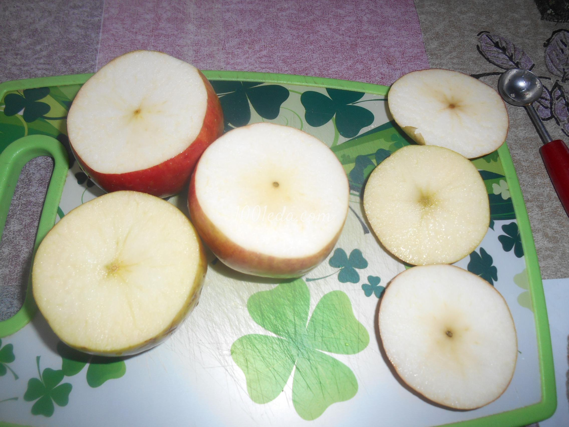 печеные яблоки в духовке рецепт с фото пошагово в