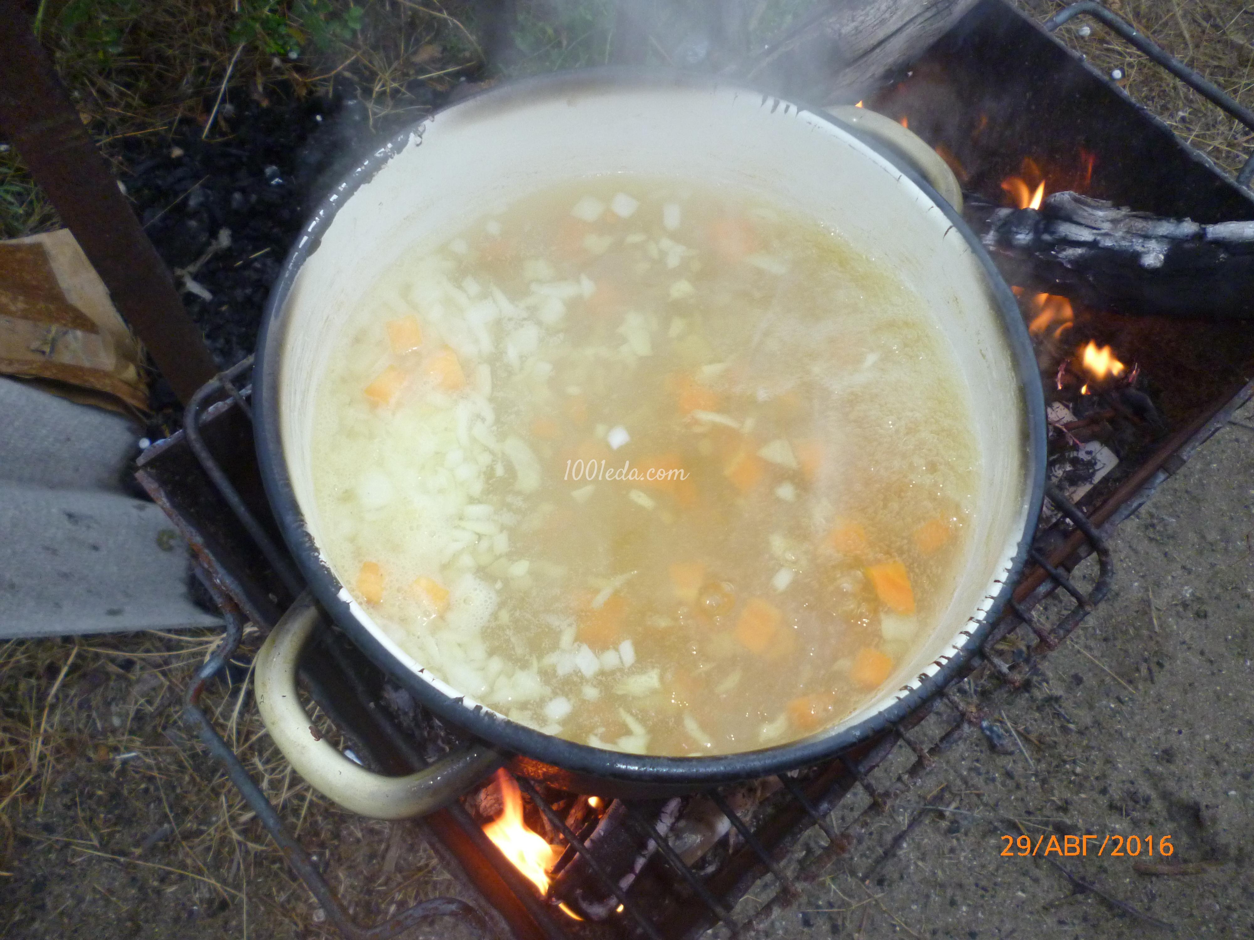 Рецепт блюд на костре с пошаговым фото