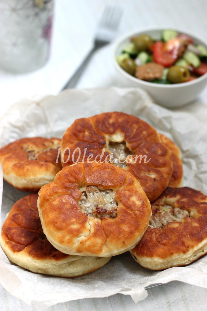 Домашние беляши с мясом рецепт на сковороде пошагово в
