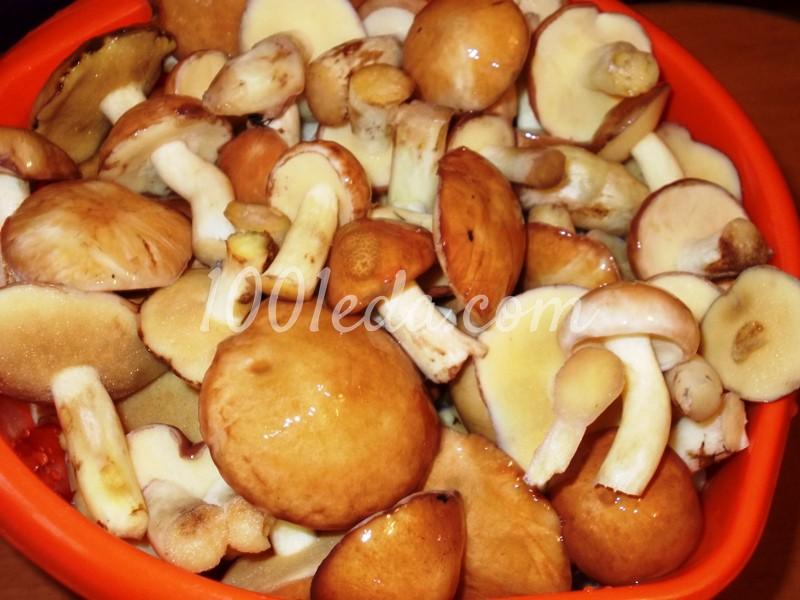 Жареные маслята рецепт с фото