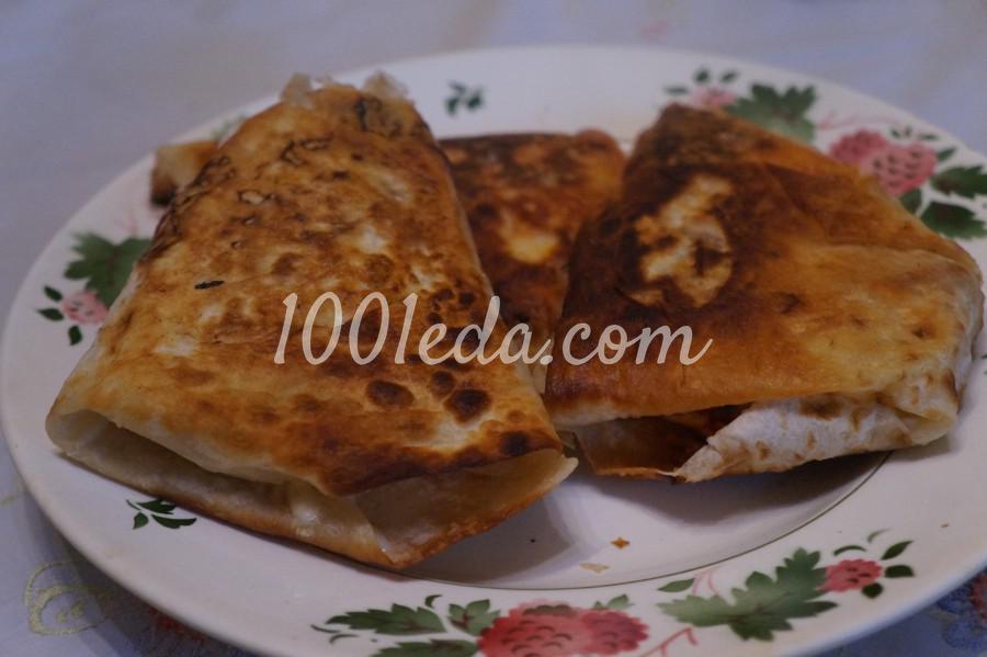 Закрытые пироги из лаваша - пиццалашики: рецепт с пошаговым фото - Шаг №8