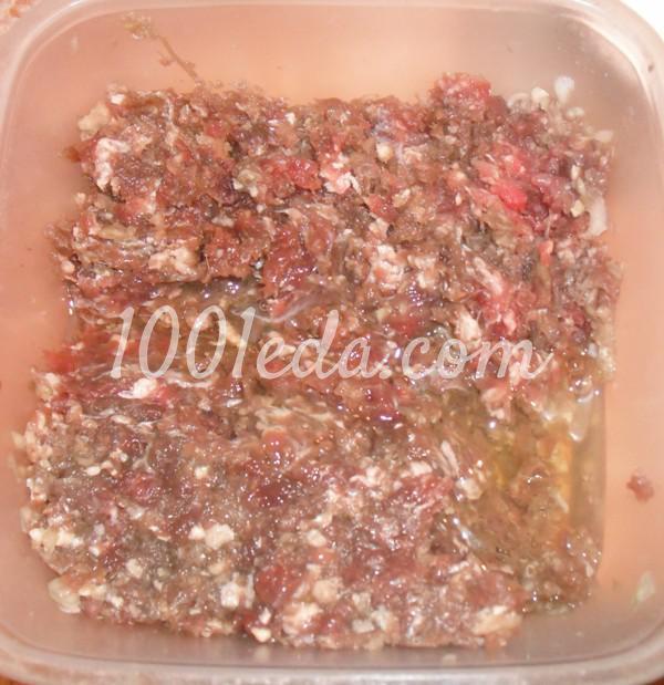 Закуска Бризоли с грибами и мясом: пошаговое фото - Шаг №11