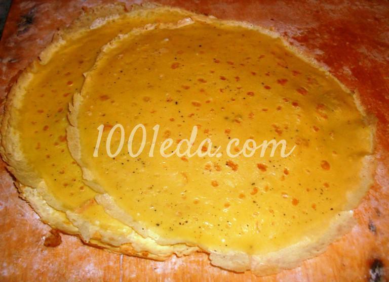 Закуска Бризоли с грибами и мясом: пошаговое фото - Шаг №6