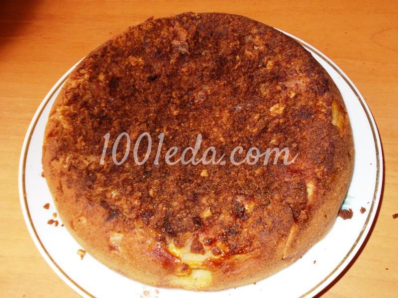 пирог с яблоками рецепт с разрыхлителем рецепт