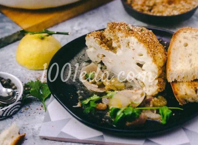 Запеченная цветная капуста в горчичном соусе: пошаговый с фото - Шаг №5