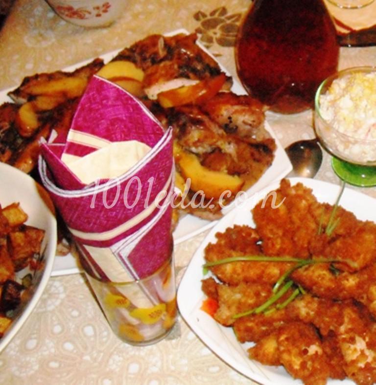 Запеченная новогодняя индейка с айвой: пошаговый с фото - Шаг №10