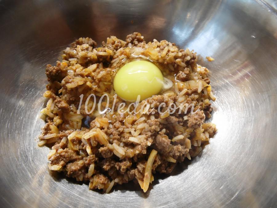 Запеканка из риса, фарша и капусты: пошаговый с фото - Шаг №6