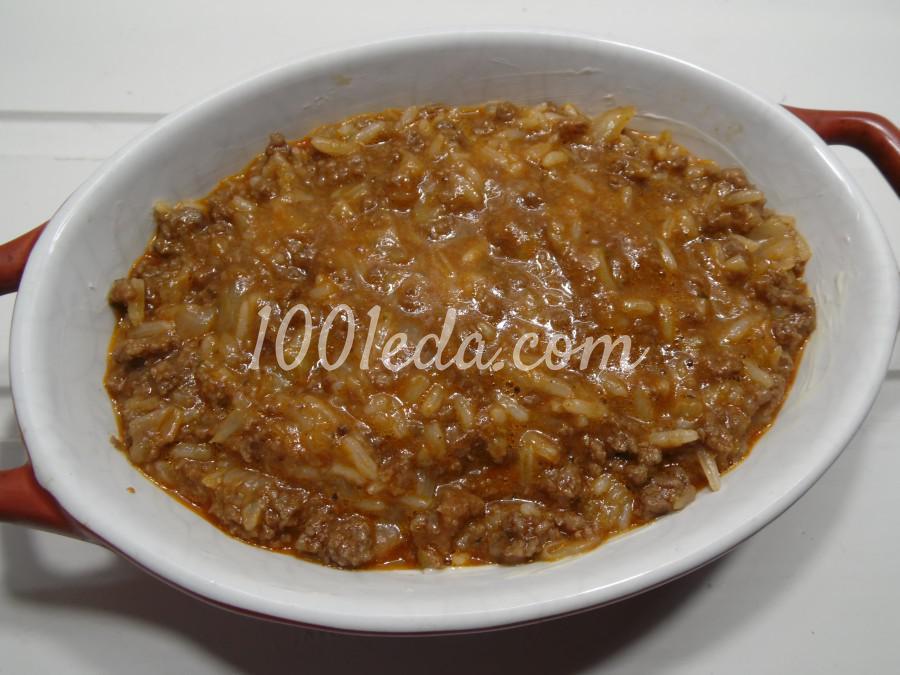 Запеканка из риса, фарша и капусты: пошаговый с фото - Шаг №7