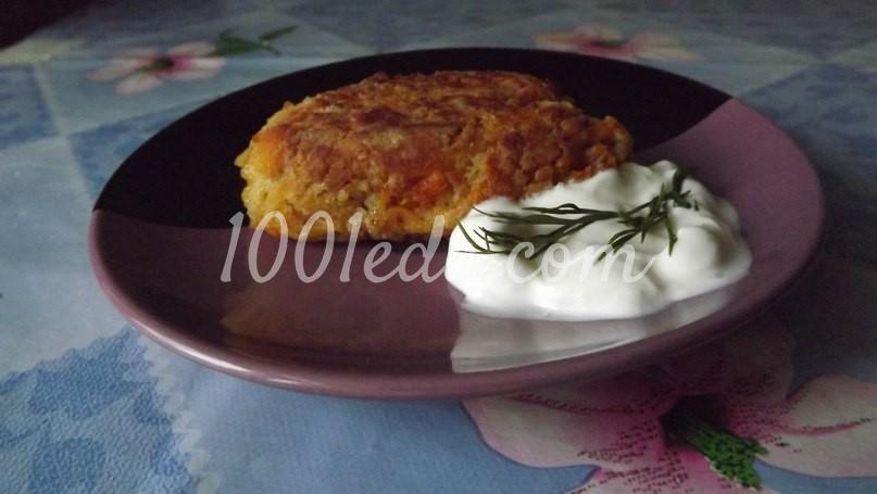 рецепт морковных котлет постных в духовке