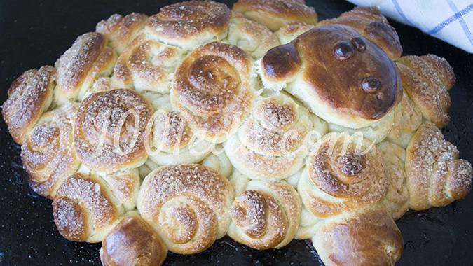 Пасхальная выпечка Овечка: рецепт с пошаговым фото