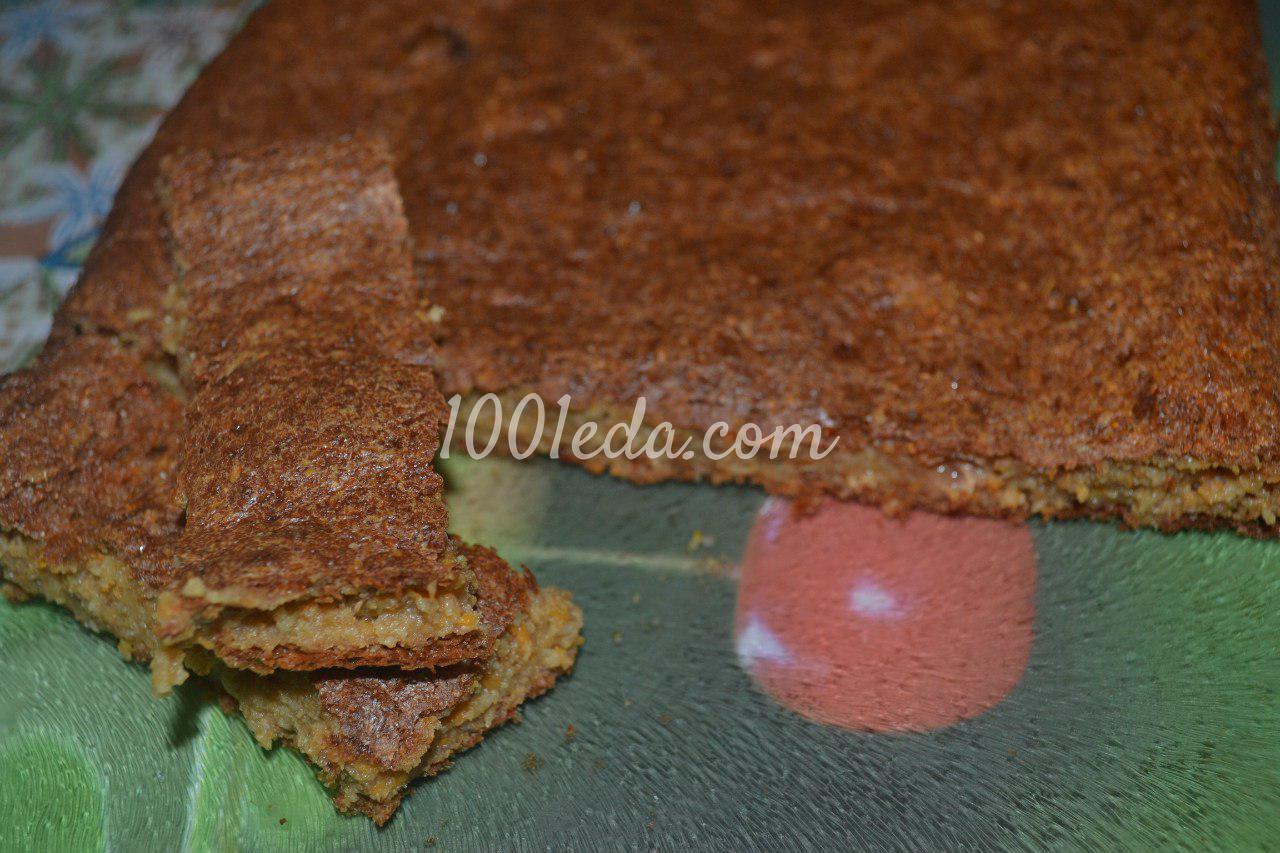 Морковный пирог постный рецепт пошагово в духовке