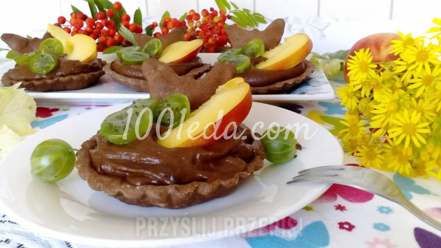 Шоколадные тарталетки без сахара