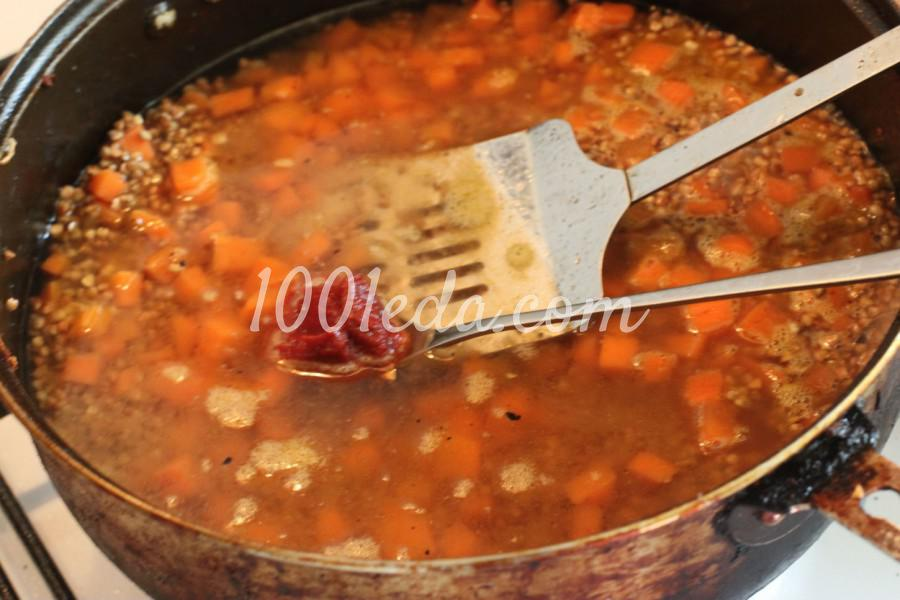 Гречневая каша с морковью и куриными бедрами в духовке: рецепт с пошаговым фото - Шаг №5