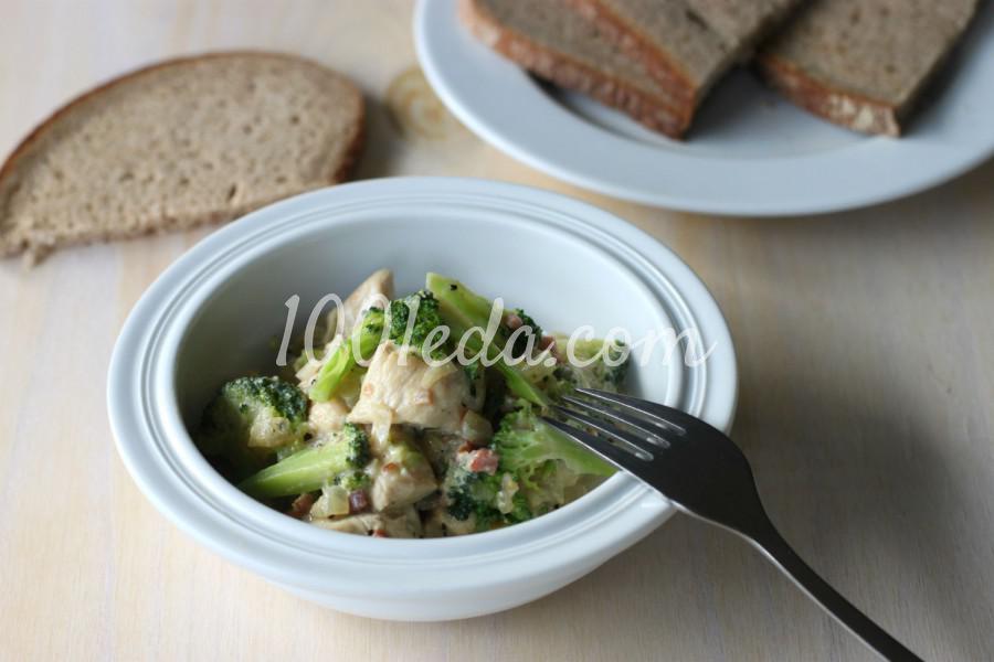 Фаршированная курица с овощами в духовке рецепт 139