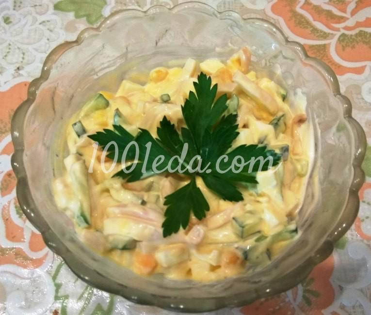 Салат из кириешек и сыра рецепт с фото