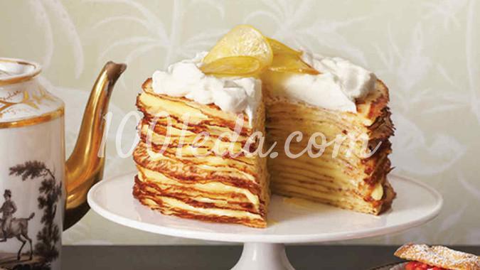 Пасхальный блинный торт от Марты Стюарт