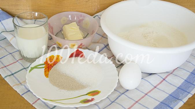 Пасхальная выпечка Овечка: рецепт с пошаговым фото - Шаг №1
