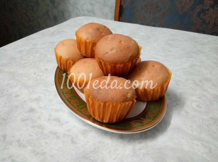 рецепт быстрых кексов в духовке в формочках