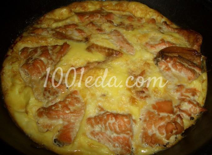 рецепт запеченной красной рыбы голец в духовке