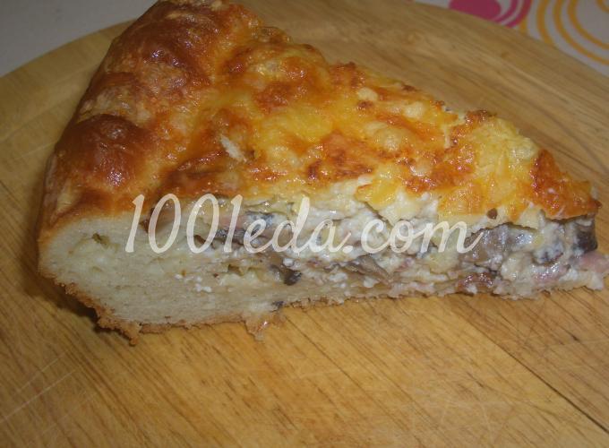 Пирог с рыбным фаршем рецепт с фото