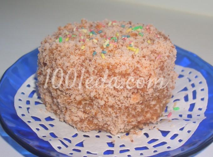 Пирожное из сухого киселя Пушистик: рецепт с пошаговым фото